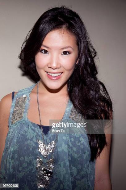 Ally Maki attends Talent Manager Mara Santino's Birthday Party at Lucky Strike Bowling Alley on January 10 2010 in Hollywood California