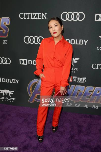 Ally Maki attends the Los Angeles World Premiere of Marvel Studios' Avengers Endgame at the Los Angeles Convention Center on April 23 2019 in Los...