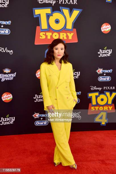 Ally Maki attends the premiere of Disney and Pixar's Toy Story 4 on June 11 2019 in Los Angeles California