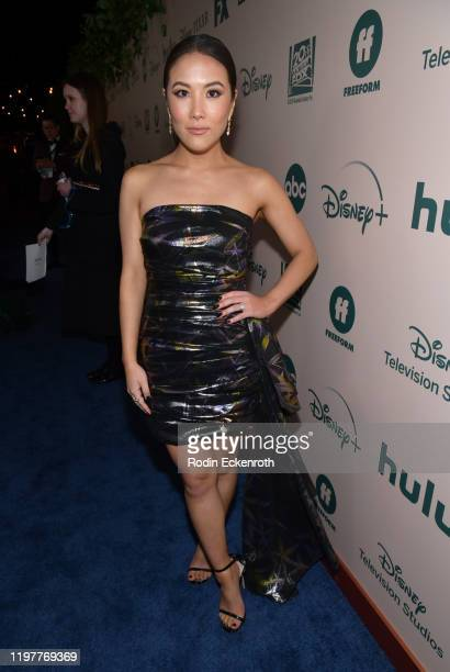 Ally Maki attends The Walt Disney Company 2020 Golden Globe Awards PostShow Celebration at The Beverly Hilton Hotel on January 05 2020 in Beverly...