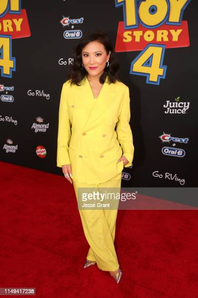 Ally Maki attends the world premiere of Disney and Pixar's TOY STORY 4 at the El Capitan Theatre in Hollywood CA on Tuesday June 11 2019