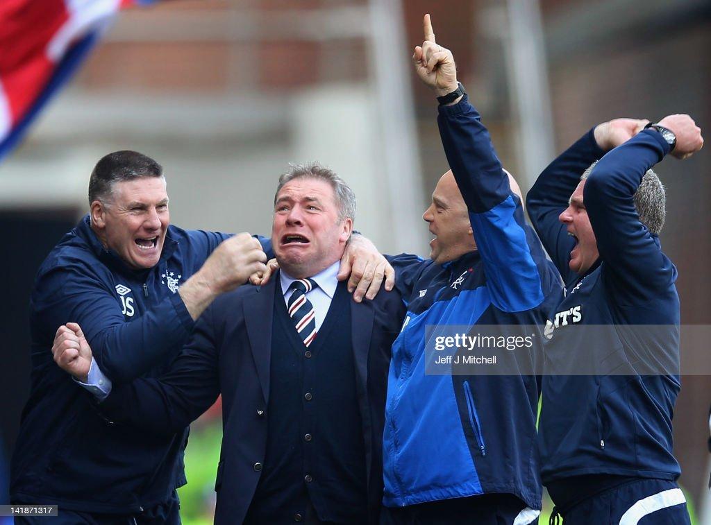 Rangers v Celtic