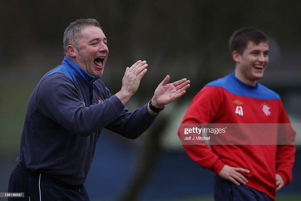 Rangers FC Training Session