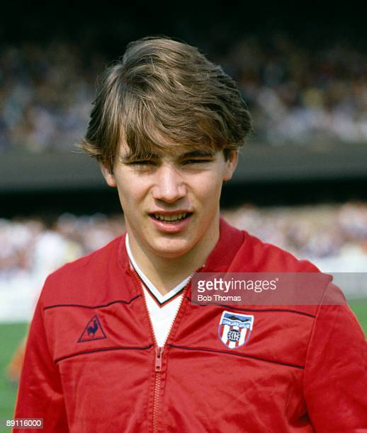 Ally McCoist of Sunderland prior to the start of the Ipswich Town v Sunderland Division 1 match played at Portman Road in Ipswich during August 1981