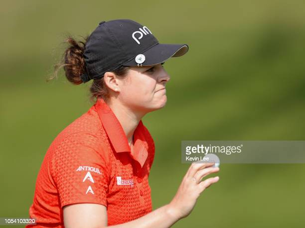 Ally McDonald of United States during the third round of the Swinging Skirts LPGA Taiwan Championships at Ta Shee Golf Country Club on October 27...