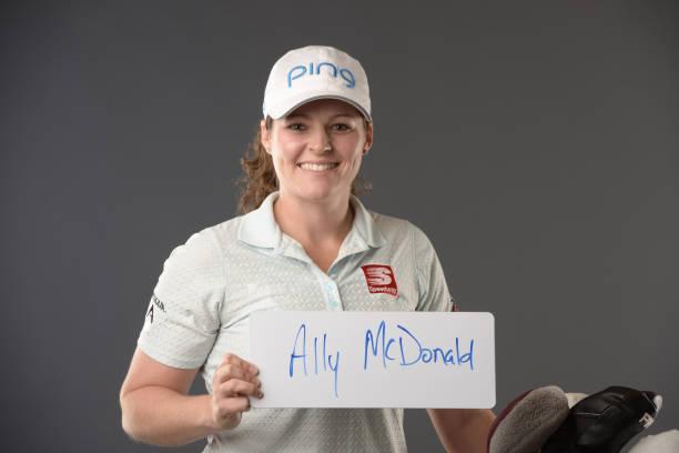 Ally McDonald poses for a portrait at the Park Hyatt Aviara Resort on March 26 2019 in Carlsbad California