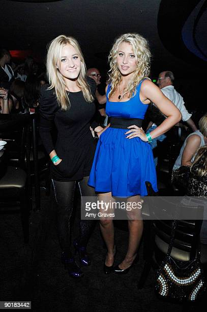 Ally Michalka and AJ Michalka attend Katy Perry Presented by SoundsofBuzzcom And Coca Cola at the Hollywood Palladium on August 29 2009 in Hollywood...