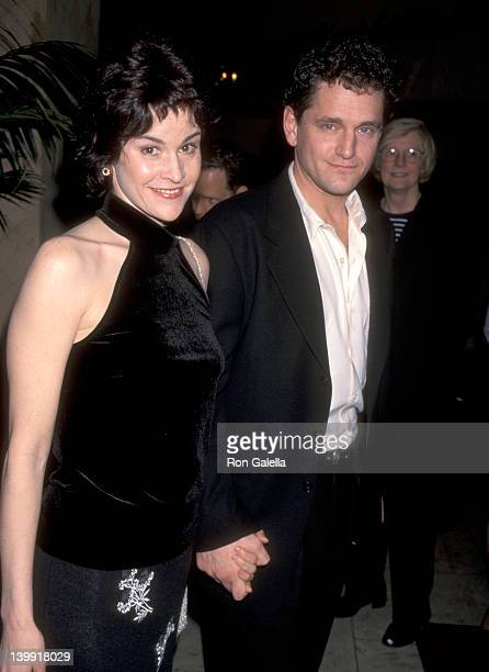 Ally Sheedy and David Lansbury at the 24th Annual LA Film Critics Association Awards Bel Age Hotel West Hollywood