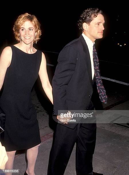 Ally Sheedy and David Lansbury at the Wedding Reception for Ted Turner Jane Fonda L'Orangerie Restaurant West Hollywood