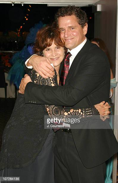 Ally Sheedy and David Lansbury during Masquerade Ball Hosted by the Acting Company to Honor Harry Belafonte and Jeffrey Horowitz at Copacabana in New...