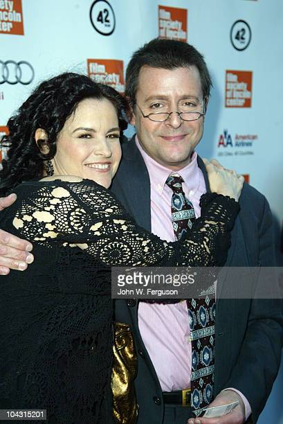 Ally Sheedy and Judd Nelson attend the Film Society of Lincoln Center's celebration of John Hughes on the 25th anniversary of his film 'The Breakfast...