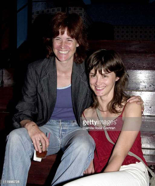 """Ally Sheedy and Trish Goff during Party for the Movie """"Noise"""" at Plaid in New York City at Plaid in New York City, New York, United States."""