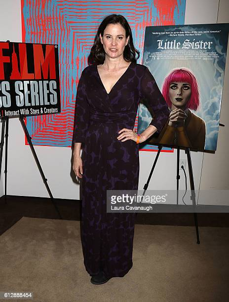 Ally Sheedy attends New York Film Critics Series 'Little Sisters' QA at The Core Club on October 5 2016 in New York City