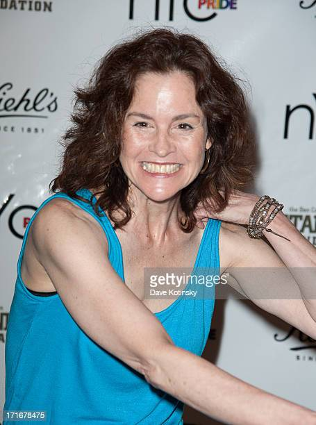 Ally Sheedy attends the NYC Pride Week 2013 Celebration hosted by Kiehl's and benefiting Ben Cohen StandUp Foundation on June 27 2013 in New York...