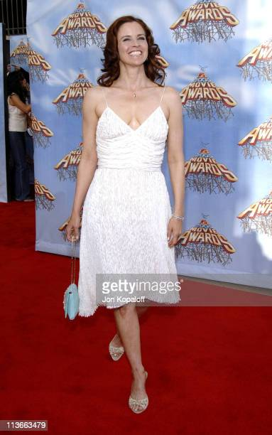 Ally Sheedy during 2005 MTV Movie Awards - Arrivals at Shrine Auditorium in Los Angeles, California, United States.