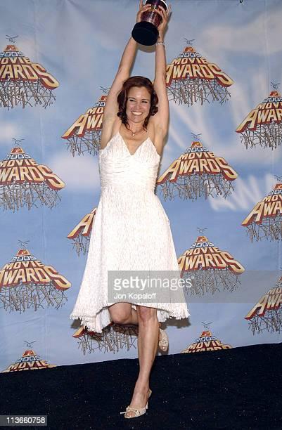 Ally Sheedy during 2005 MTV Movie Awards - Press Room at Shrine Auditorium in Los Angeles, California, United States.