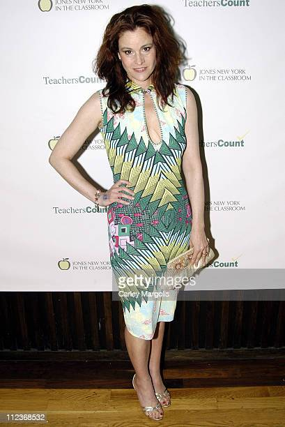 """Ally Sheedy during 2nd Annual Spring Fling Hosted by Zac Posen and Alexandra Posen to Benefit """"Teachers Count"""" at Hiro at the Maritime Hotel in New..."""