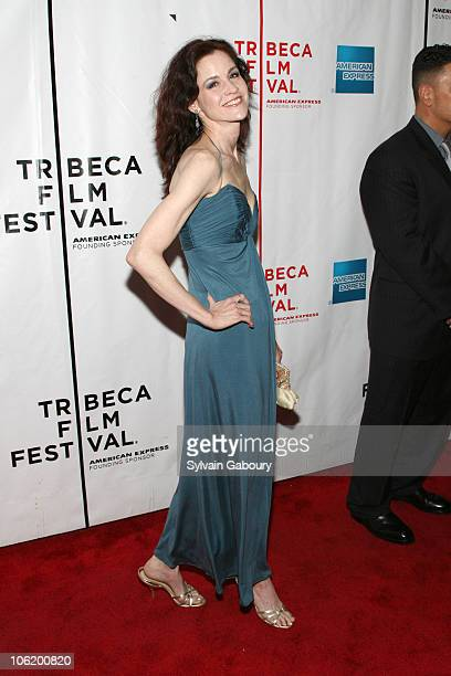Ally Sheedy during 6th Annual Tribeca Film Festival Premiere of 'Day Zero' Red Carpet at Clearview Chelsea West Cinemas at 333 West 23rd Street in...