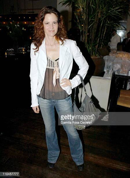 Ally Sheedy during Celebrity Waiters Serve Up Sapa's Southeast Asian Cuisine to Benefit Project A.L.S. At Sapa Restaurant in New York, New York,...