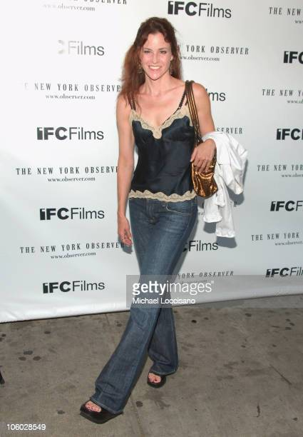 Ally Sheedy during Factotum New York Premiere Arrivals at IFC Theatre in New York City New York United States