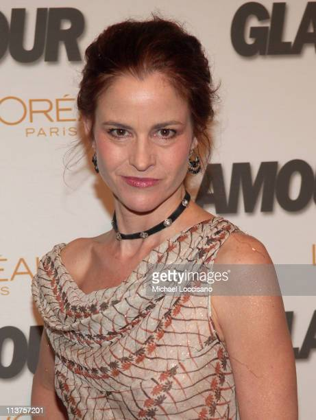 Ally Sheedy during Glamour Magazine Salutes The 2005 Women of the Year Arrivals at Avery Fisher Hall in New York City New York United States
