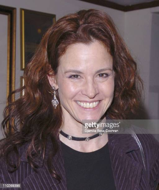 Ally Sheedy during The Vagina Monologues New York City Reception April 1 2006 at All Souls Unitarian Church in New York City New York United States