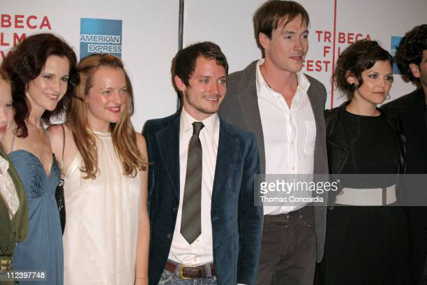 Ally Sheedy Elisabeth Moss Elijah Wood Chris Klein and Ginnifer Goodwin