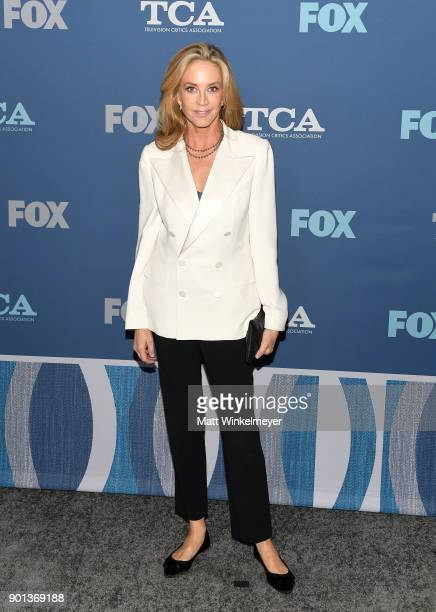 Ally Walker attends the FOX AllStar Party during the 2018 Winter TCA Tour at The Langham Huntington Pasadena on January 4 2018 in Pasadena California
