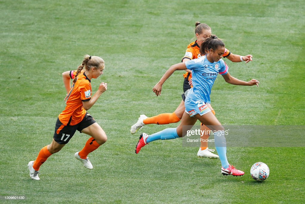 W-League Rd 14 - Melbourne v Brisbane : News Photo