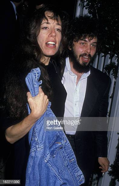 Allyce Beasley and Curtis Armstrong attend the fundraiser for Michael Dukakis on September 15 1988 at Norman Lear's home in Beverly Hills California