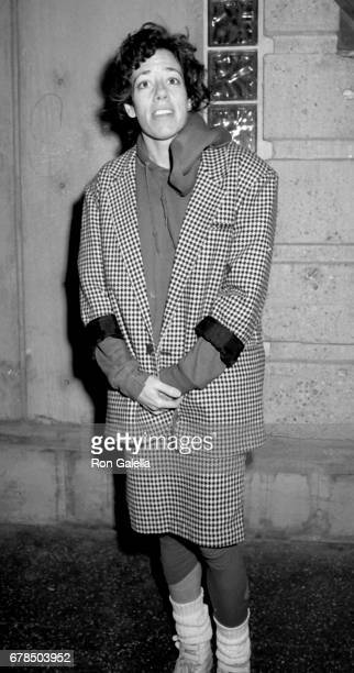 Allyce Beasley attends 'The Iceman Cometh' Opening on February 12 1986 at the James Doolittle Theater in Hollywood California