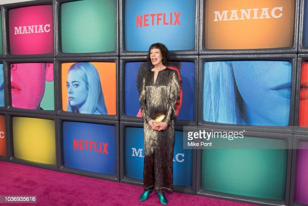 Allyce Beasley attends the 'Maniac' season 1 New York premiere at Center 415 on September 20 2018 in New York City