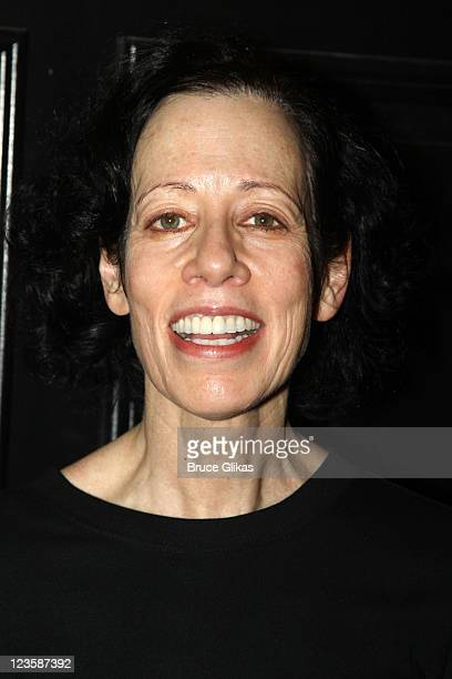 Allyce Beasley poses at the after party for Kelsey Grammer Douglas Hodge Robin De Jesus Fred Applegate's final performance in 'La Cage Aux Folles' on...