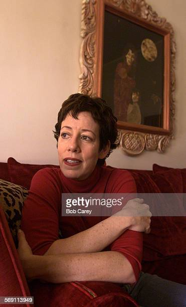 Allyce Beasley sits in her Windsor Square area home and talks about the Screen Actor's Guild negotiations