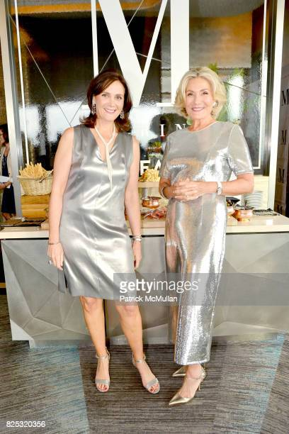 Allyn Magrino and Susan Magrino attend Magrino PR 25th Anniversary at Bar SixtyFive at Rainbow Room on July 25 2017 in New York City