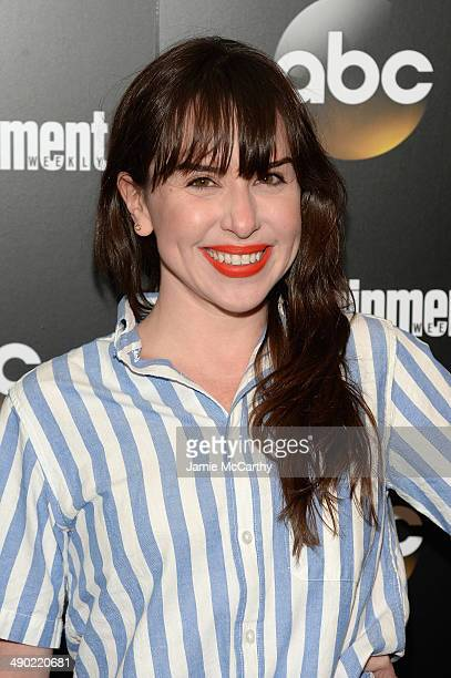 Allyn Rachel attends the Entertainment Weekly ABC Upfronts Party at Toro on May 13 2014 in New York City