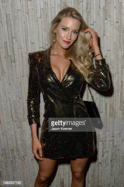 Allyn Rose poses for a portrait at the 2018 World Futbol Gala After Party at the W Hotel at W Hotel on November 17 2018 in Miami Florida