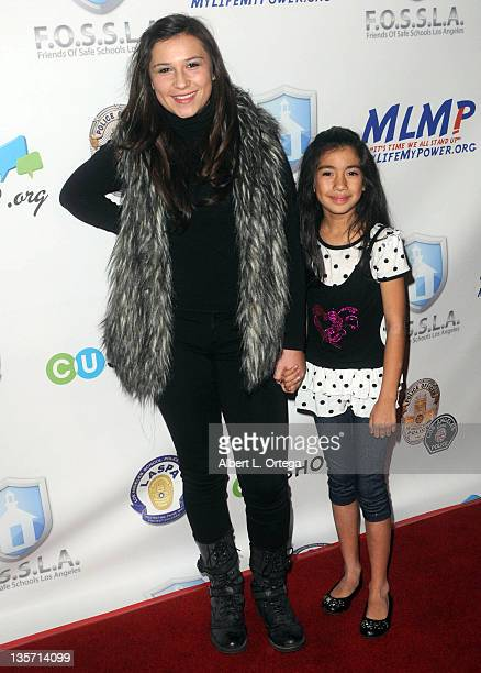 Allysa Ream and Angela Martinez arrive for The LA School Police Department's Annual Carnival To Benefit The Friends Of Safe Schools LA Charity held...