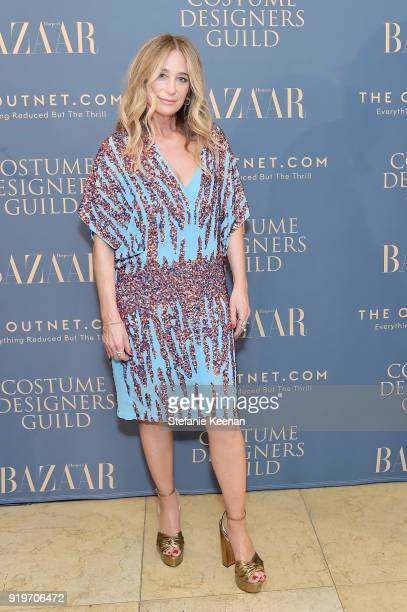 Allyson B Fanger attends Harper's BAZAAR and the CDG Celebrate Top Costume Designers and Nominees of the 20th CDGA with an Event Presented by The...