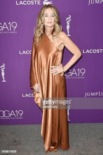 Allyson B Fanger attends the 19th CDGA Arrivals at The Beverly Hilton Hotel on February 21 2017 in Beverly Hills California