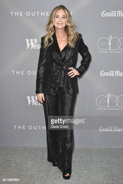 Allyson B Fanger attends the 20th CDGA Arrivals on February 20 2018 in Beverly Hills California