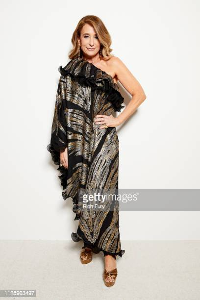 Allyson B Fanger attends the 21st Costume Designers Guild Awards x Getty Images Portrait Studio presented by LG V40 ThinQ on February 19 2019 in...