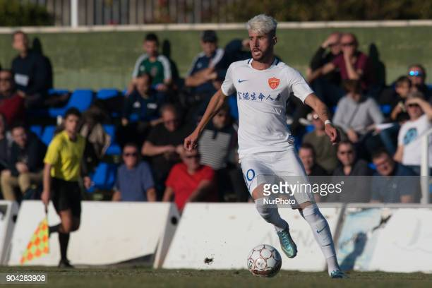 Allyson da Luz during the friendly match between Royal Charleroi SC vsYanbian Funde FC at Pinatar Arena Murcia SPAIN 10th January of 2018