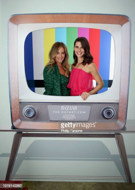 Allyson Fanger and Lindsey Kraft attend Harper's BAZAAR and the CDG celebrate Excellence in Television Costume Design with the Emmy Nominated Costume...