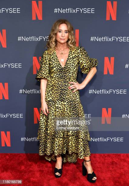 Allyson Fanger attends the Netflix FYSEE Craft Day at Raleigh Studios on May 18 2019 in Los Angeles California