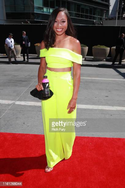 Allyson Felix attends The 2019 ESPYs at Microsoft Theater on July 10 2019 in Los Angeles California