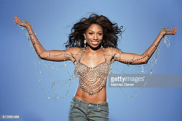 Allyson Felix is photographed for ESPN Magazine The Music Issue on January 19 2013 PUBLISHED IMAGE