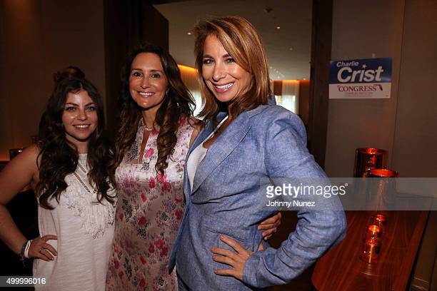 Allyson Shapiro Carol Crist and Jill Zarin attend Charlie Crist's Brunch at The Edition on December 4 in Miami Beach Florida