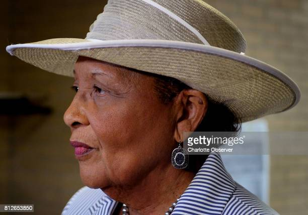 Alma Adams appeared at Mayfield Memorial Missionary Baptist Church Monday July 10 2017 to discuss health care in Charlotte NC Adams represents the NC...