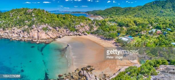 alma bay,magnetic island,queensland,australia - townsville australien stock-fotos und bilder